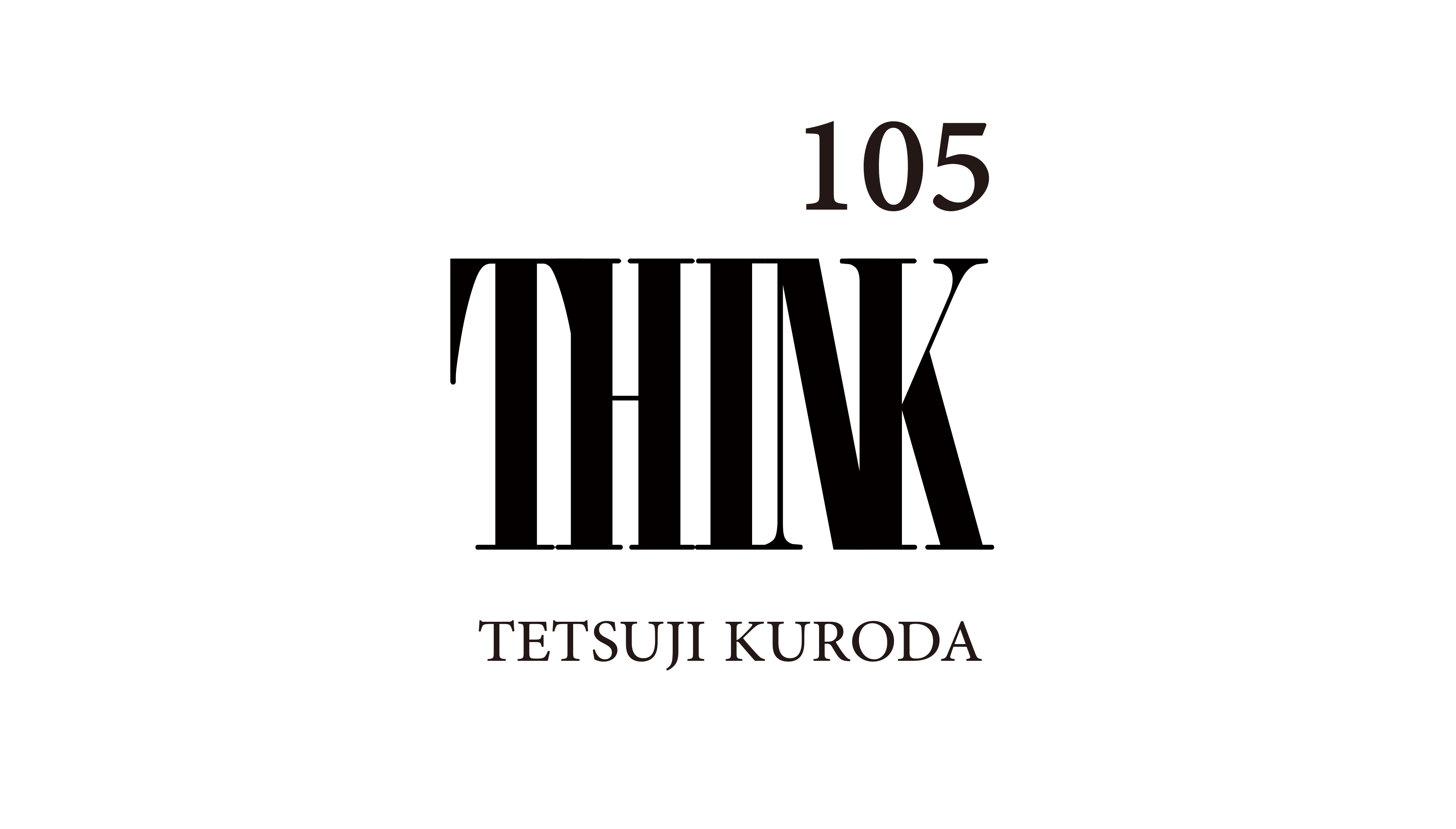THINK105 logo+
